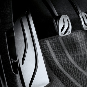 BMW M Performance Fußstütze Edelstahl 1er F20 F21 2er F22 F23 3er F30 F31 F34GT 4er F32 F33 F36