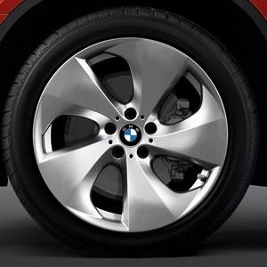 BMW Alufelge Streamline 297 11J x 20 ET 37 Silber Hinterachse (rechte Fahrzeugseite) BMW X6 E71 E72
