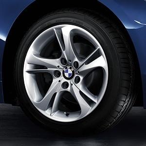 BMW Alufelge Turbinen-Styling 292 8,5J x 17 ET 40 Silber Hinterachse BMW Z4 E89