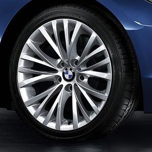 BMW Alufelge Vielspeiche 293 8,5J x 18 ET 40 Silber Hinterachse BMW Z4 E89