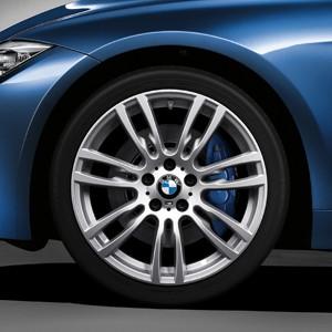 BMW Alufelge M Sternspeiche 403 8,5J x 19 ET 47 Ferricgrey Hinterachse BMW 3er F30 F31 4er F32 F33 F36