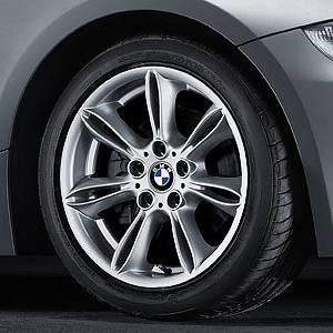 BMW Alufelge Doppelspeiche 103 8J x 17 ET 47 Silber Vorderachse / Hinterachse BMW Z4 E85