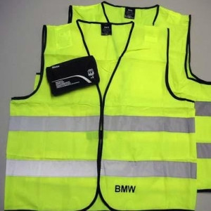 BMW Warnwestenset 2 Stück