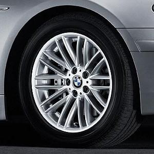 BMW Alufelge Vielspeiche 94 8J x 18 ET 24 Silber Vorderachse / Hinterachse BMW 7er E65 E66 E68