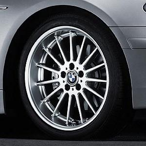 BMW Alufelge Radial-Styling (Styl.32) 8J x 18 ET 47 Silber Vorderachse BMW 3er E46