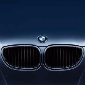 BMW Performance Frontziergitter, schwarz E60, E61