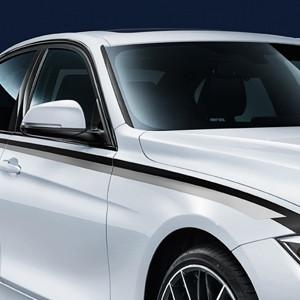 BMW M Performance Seitenstreifen, 5er F10, F11