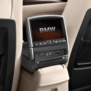 BMW DVD-System im Fond, X1 E84