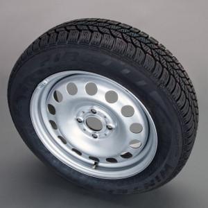 MINI Scheibenrad Stahl Styl.12 5,5J x 16 ET 45 Silber Vorderachse / Hinterachse MINI R50 MINI Cabrio R52 R57 MINI R53 R56 MINI Clubman R55 MINI Coupe R58 MINI Roadster R59