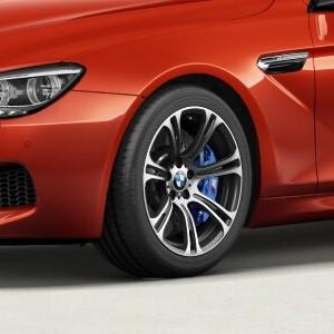 BMW Alufelge M Sternspeiche 344 geschmiedet 9,5J x 19 ET 31 Silber Vorderachse BMW 6er F12 F13