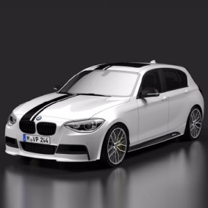 BMW M Performance Aerodynamik-Paket Aufsatzteil Seitenschweller 1er F21 2er F22 F23