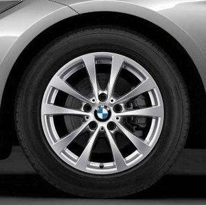BMW Winterkompletträder V-Speiche 395 silber 17 Zoll 3er F34 GT RDCi