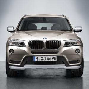 BMW Nachrüststatz Optikpaket X Line Front X3 F25