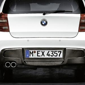 BMW Performance Diffusor Carbon für das M-Aerodynamik-Paket 1er E81 E87