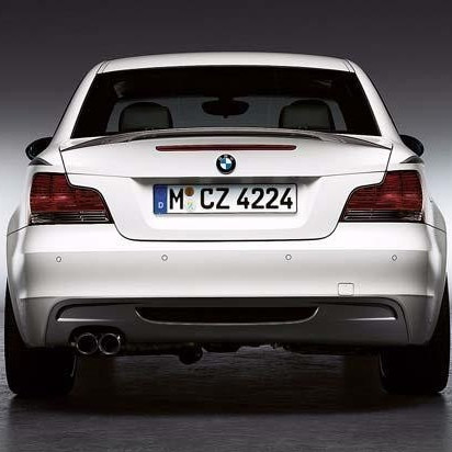 BMW Performance Aerodynamik-Paket Heck, grundiert 1er E82 E88