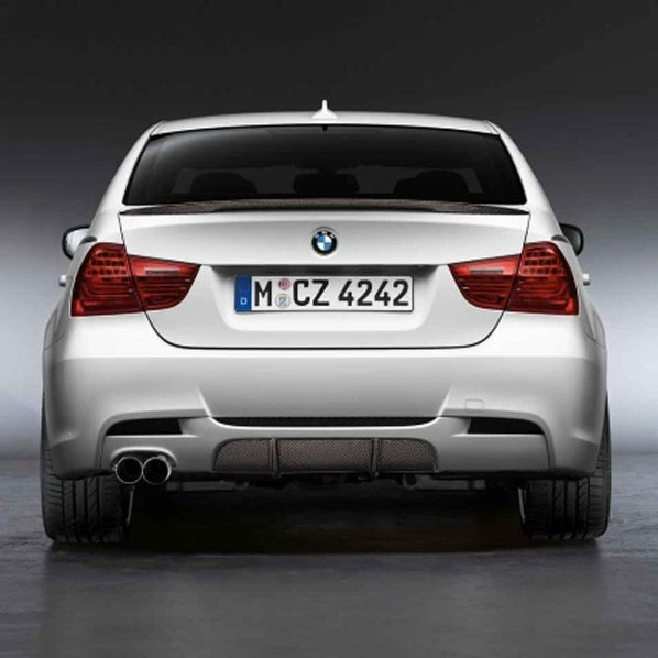 BMW Performance Blende Carbon für Performance Diffusor E90 E91