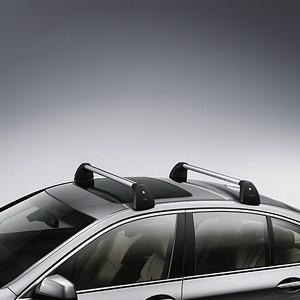 BMW Grundträger, abschließbar, 5er Touring F11 mit Reling