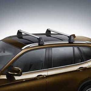 BMW Grundträger, abschließbar X3 E83 mit Reling