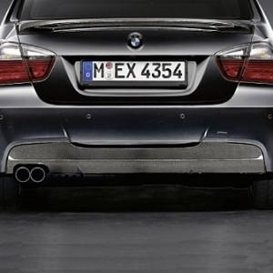 BMW Performance Diffusor Carbon für das M Aerodynamik-Paket 3er Limousine E90 und Touring E91