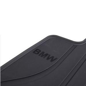 BMW Satz Gummimatten hinten anthrazit, passend für 3er E90 E91