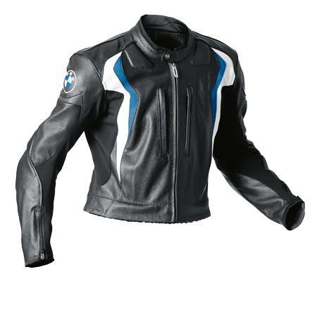 BMW Jacke Start für Herren, schwarz/blau
