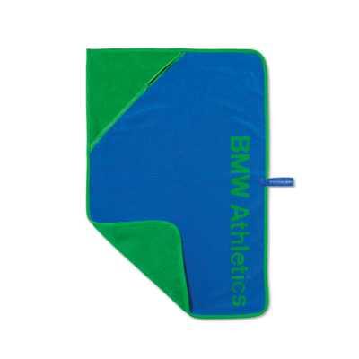 BMW Athletics Funktionshandtuch royalblau/grün