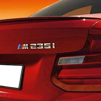 BMW M Heckspoiler grundiert 2er F22