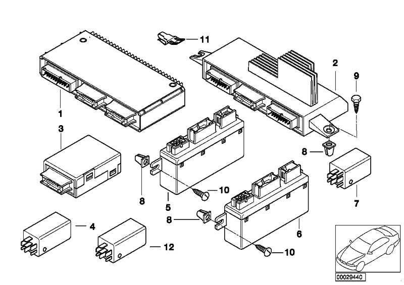 Licht/Check-Controlmodul  5er 7er X5 Z8  (61356961141)