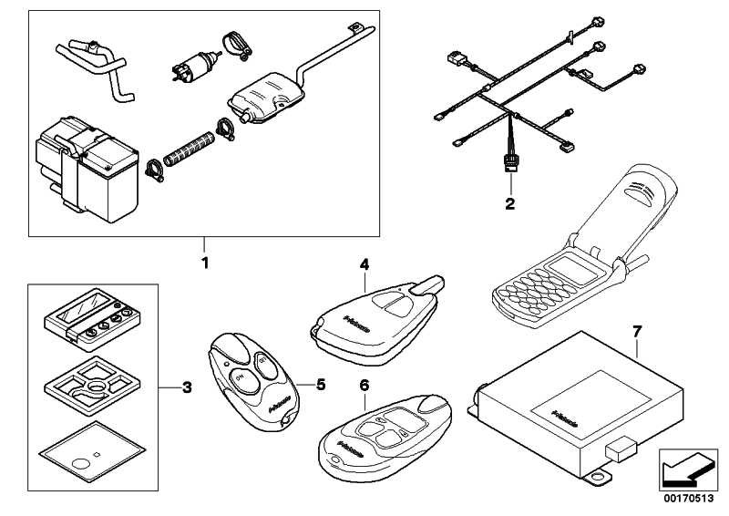 Nachrüstsatz Fernbedienung Standheizung T100            1er 3er 5er 6er 7er X5 X6  (64500410385)