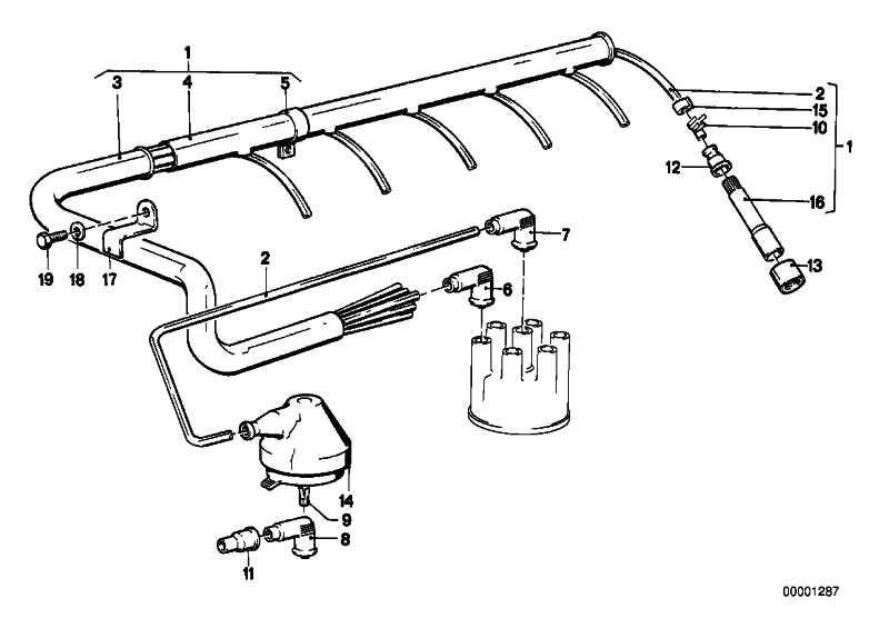 Isolierschlauch B25X1,2         3er 5er 6er 7er  (07119975352)