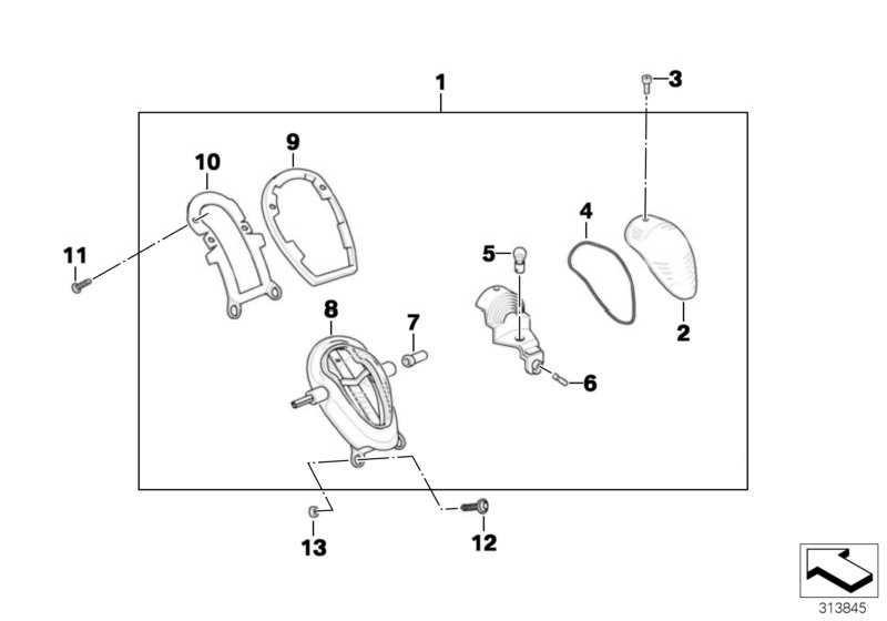 Blinkerhalter für Hohlschraube CHROM  (63217654381)