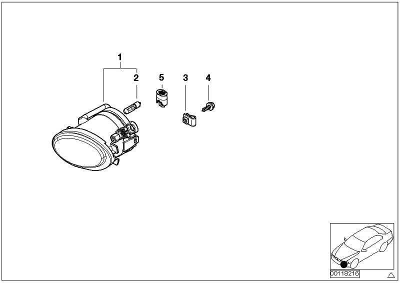 Nebelscheinwerfer links  3er 5er  (63177894017)