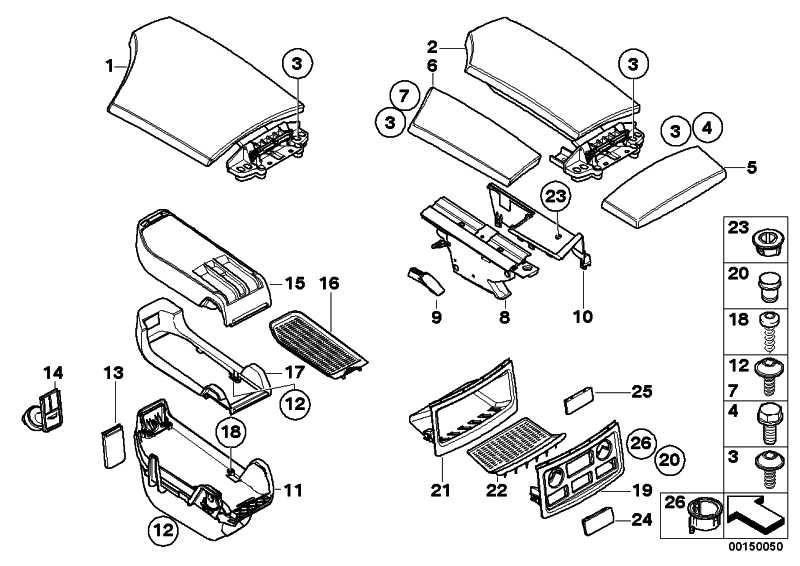 Aufnahme USB-Buchse  5er  (51169136586)