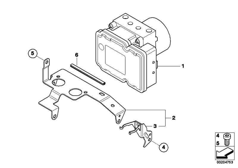 Druckmodulator Integral ABS Generation 2   (34517715109)