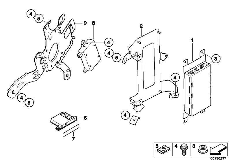 Ladefreisprechelektronik BASIS 1er 3er 5er 6er 7er X1 X5 X6 Z4 MINI  (84109226711)