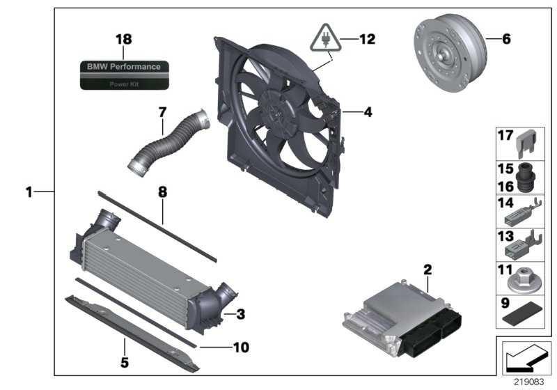 Power Kit BMW PERFORMANCE 1er 3er  (11122179614)