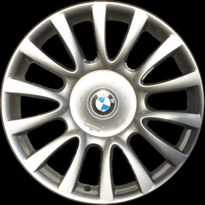 BMW Alufelge Individual V-Speiche 265 9J x 19 ET 48 Silber Vorderachse BMW X5 E70 X6 E71 E72