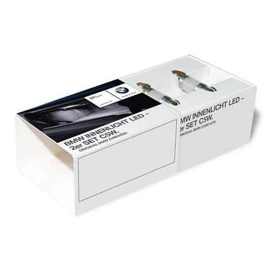 BMW Innenlichtpaket LED - 2er Set C5W