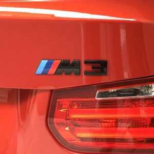 BMW M Performance Emblem M3 F80