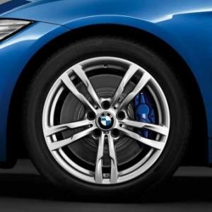BMW Alufelge M Doppelspeiche 441 8,5J x 18 ET 47 Hinterachse BMW 3er F30 F31 4er F32 F33 F36