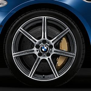 BMW Alufelge M Doppelspeiche 601 9,5J x 20 ET 31 Vorderachse BMW M6 F06, F12, F13