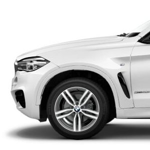 BMW Alufelge M Doppelspeiche 623 bicolor 9J x 19 ET 48 Vorderachse / Hinterachse X6 F16