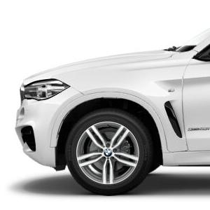 BMW Alufelge M Doppelspeiche 623 bicolor 10J x 19 ET 21 Vorderachse / Hinterachse X6 F16