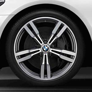 BMW Winterkompletträder M Doppelspeiche 648 orbitgrey 20 Zoll 7er G11 G12 RDCi