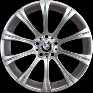 BMW Alufelge M Radialspeiche 166 silber 9J x 19 ET 17 Hinterachse  5er M E60 E61 6er M E63 E64