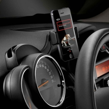 MINI Click & Drive System Smartphone Halter iPhone™4, iPhone™5, iPhone™6, Samsung™Galaxy S2, S3 und S4 mit NFC