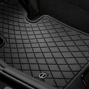 MINI Satz Gummimatten Essential Black vorne für F55 F56