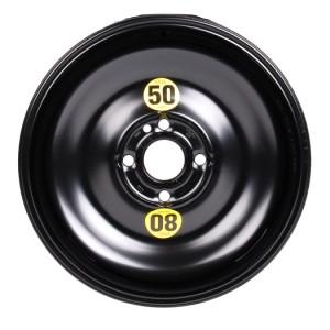 MINI Notrad Stahl schwarz 3,5 J x 15 ET 35 Vorderachse / Hinterachse MINI R56 LCI, R52, R56, R50, R55, R58, R57, R59