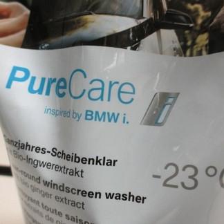 BMW Natural Care Ganzjahres-Scheibenklar mit Bio-Ingwerextrakt, 2000 ml
