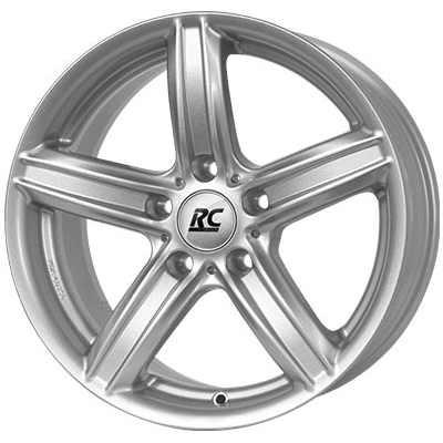 RC-Design Alufelge RC21 kristallsilber 8J x 17 ET 30 Vorderachse / Hinterachse 5er F10 F11 6er F12 F13 X3 F25 Z4 E89